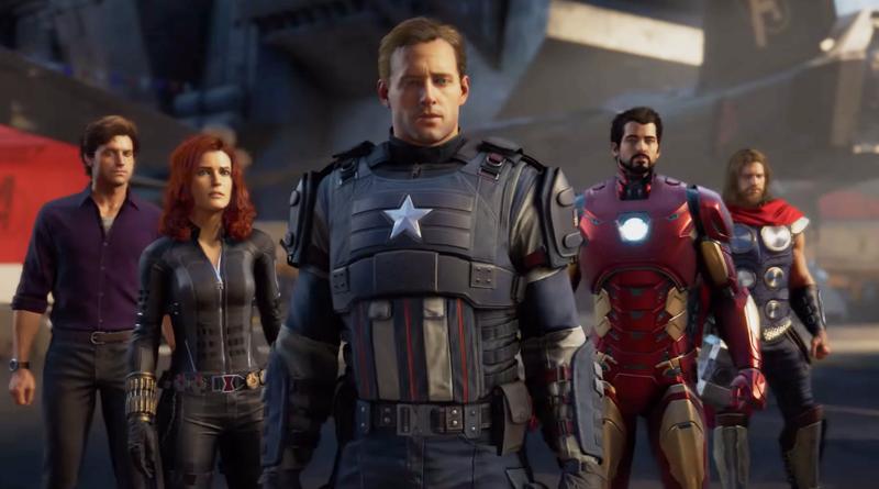 marvel's avengers square enix