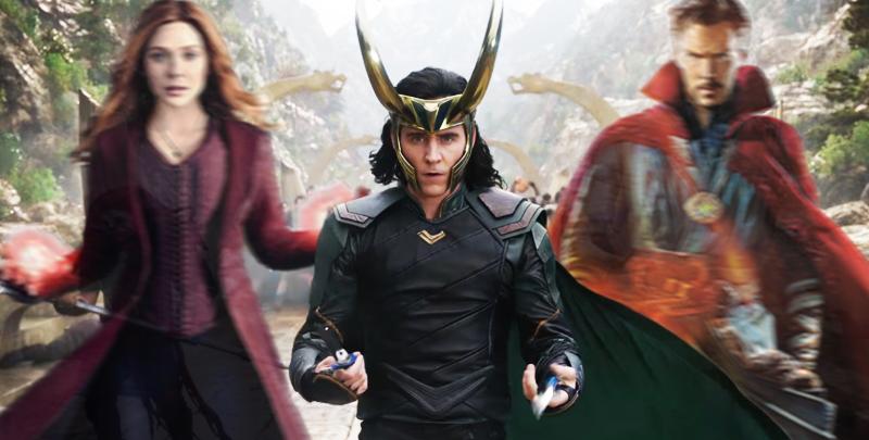 Novidades Disney+ LOKI, Marvel, Doctor Strange, Doutor Estranho, Feiticeira Escarlate, Scarlet Witch