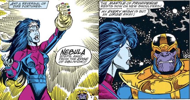 Nebulosa nova HQ Manopla do Infinito Thanos Guerra Infinita Nebula