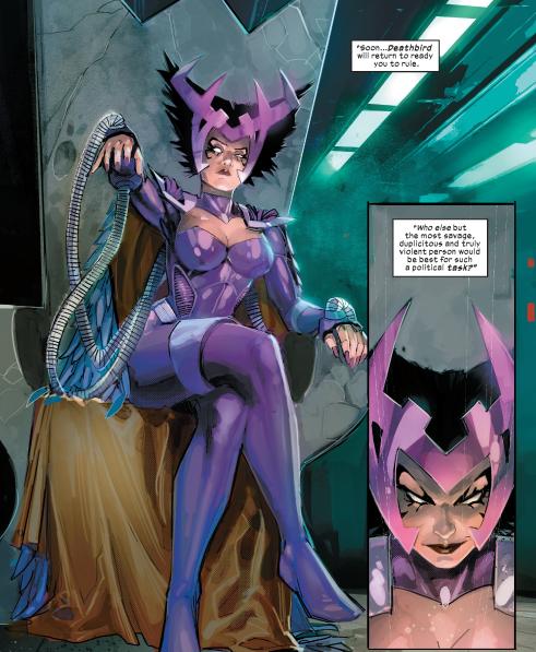 Rapina   Deathbird   Marvel   New Mutants   Novos Mutantes   Majestrix