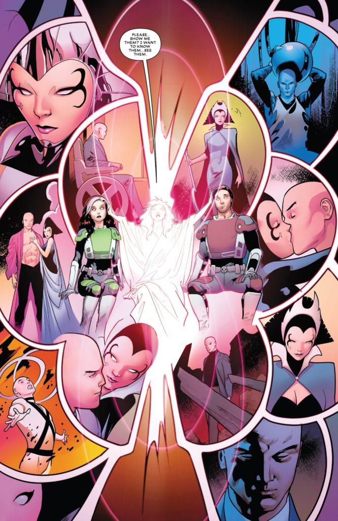 Xandra   Xavier   Lilandra   Marvel   New Mutants   Novos Mutantes   Majestrix