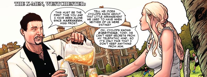 History of the Marvel Universe | Tony Stark e Emma Frost | Marvel Comics | Spoilers