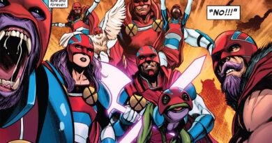 Marvel traz de volta a lendária Tropa dos Capitães Britânia