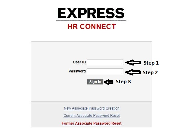 HR Connect Express Employee Login
