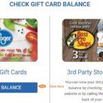 Kroger Gift Card Balance Online Check