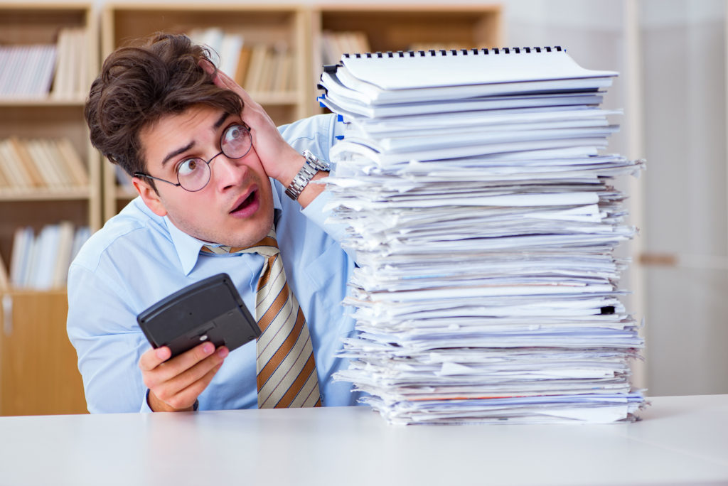 Too much bookkeeping?