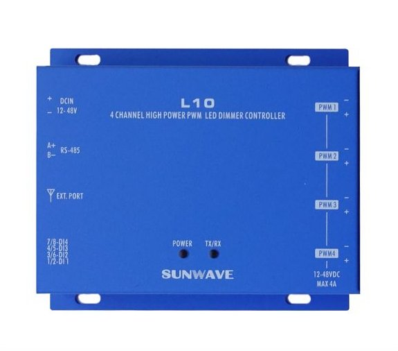 L10 4CH PWM DC 調光控制器
