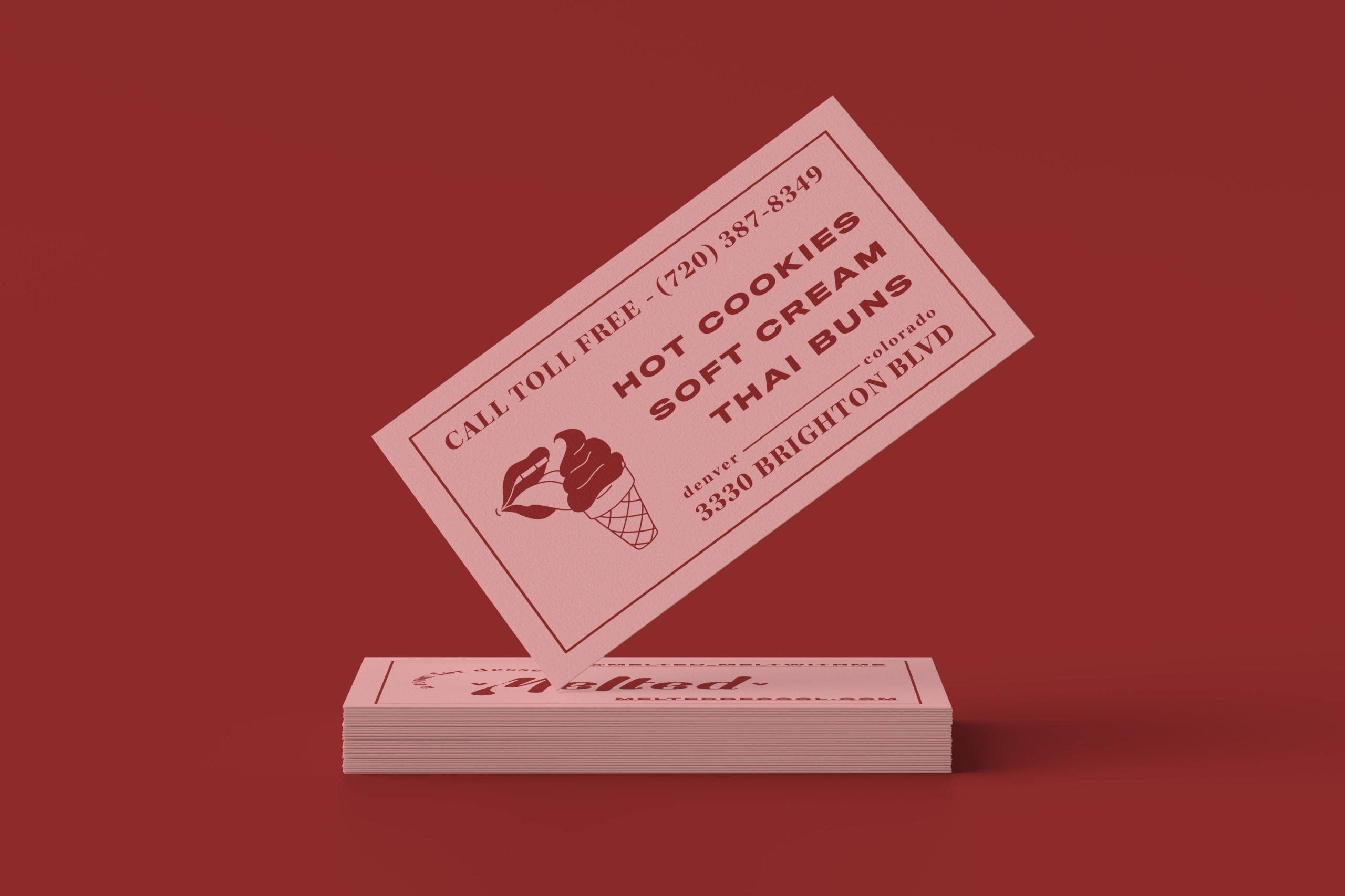 Business Card Mockup #5 by Anthony Boyd Graphics