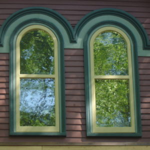 Vintage Wooden Storm Windows