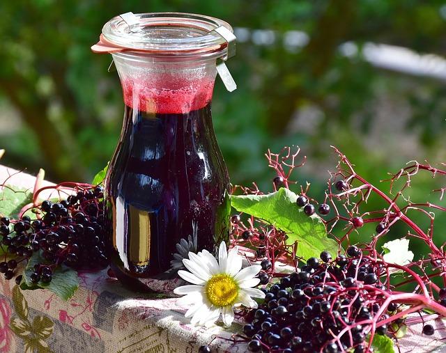 The Monster Enjoys Elderberry Jam - rc peris