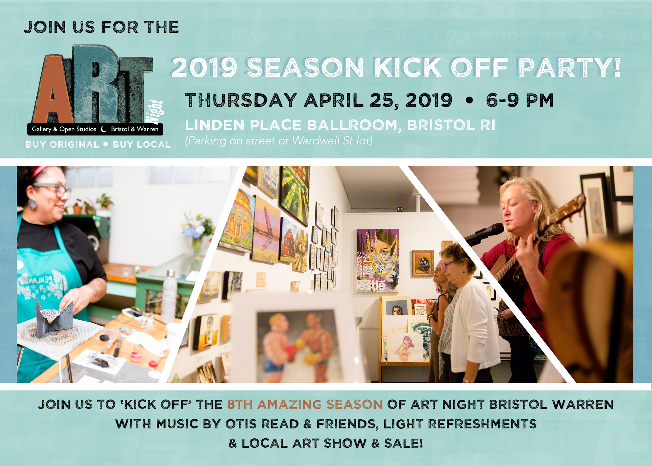 Art Night Kick-Off Party – April 25th