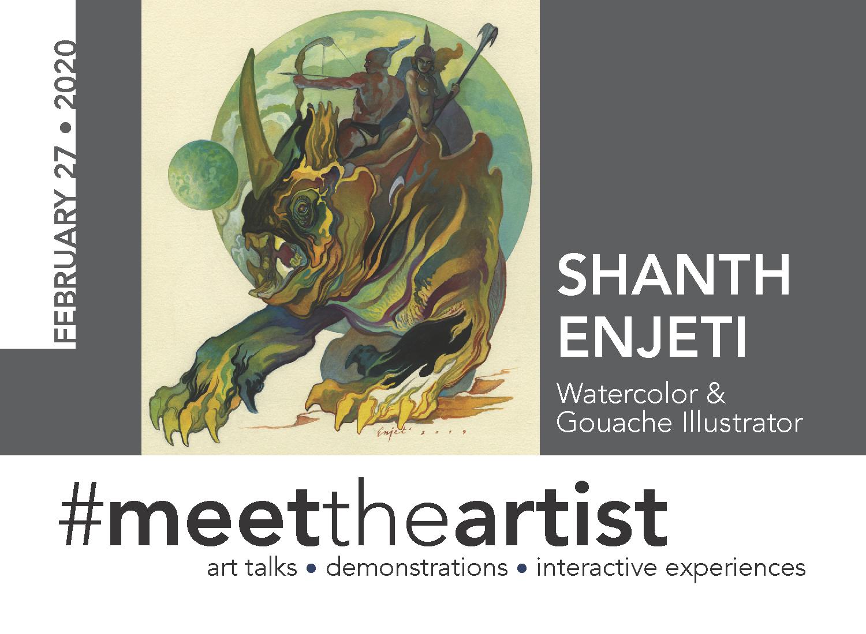 #meettheartist Shanth Enjeti