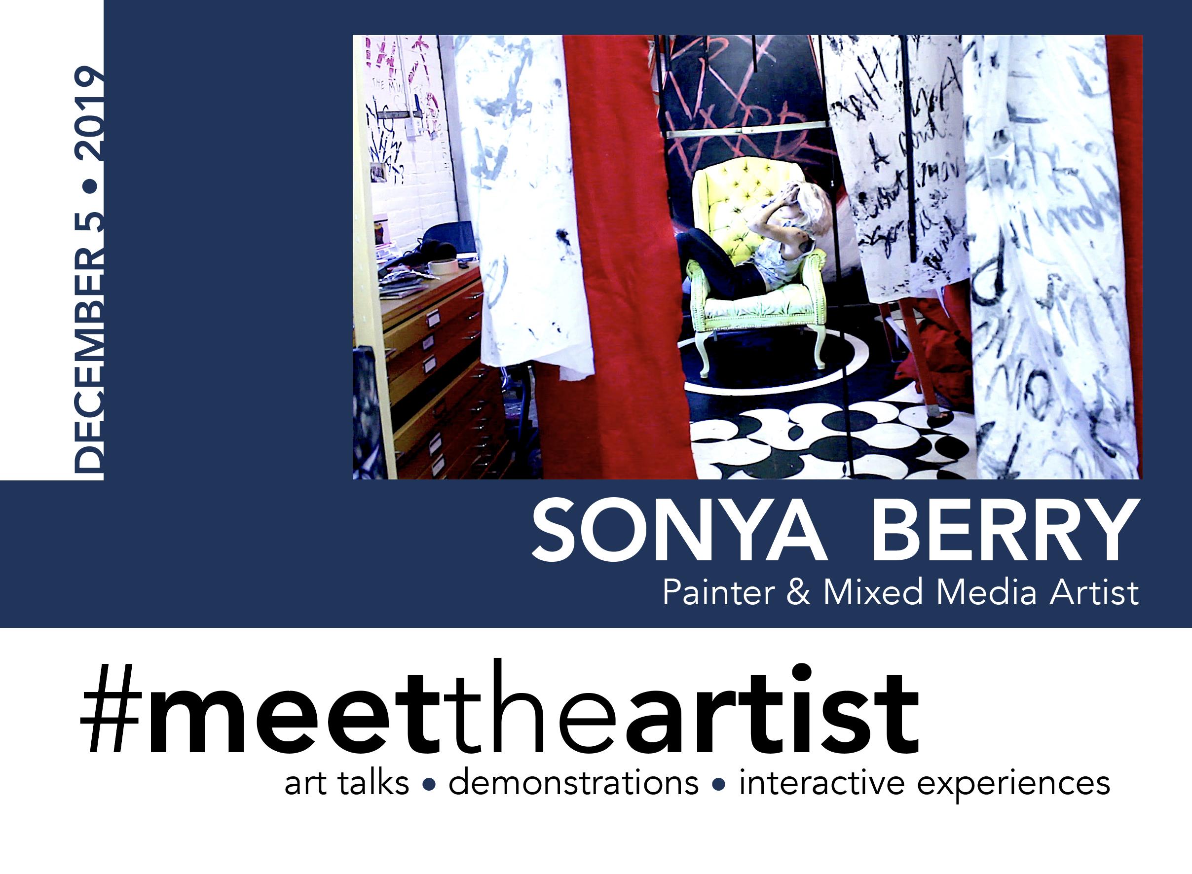#meettheartist Sonya Berry