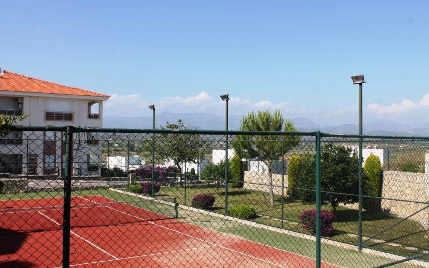 Spring 3 tennis court