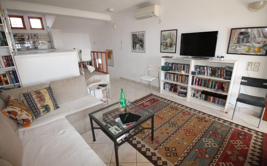 Side Kumköy Polatli Tatil Sitesinde Deniz manzaralı Mükemmel villa