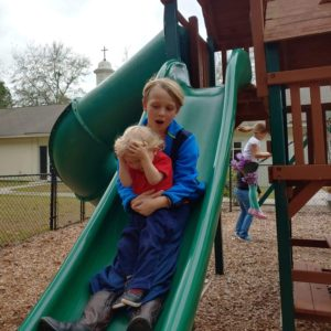 Tag-alongs (babies and tots)