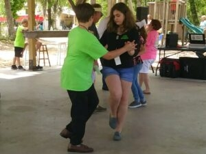 Jr. Shag Club teaches young people the Carolina State Dance.
