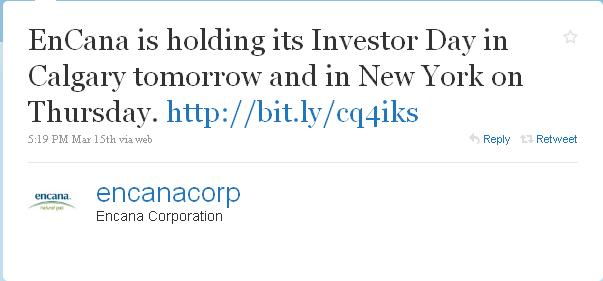 Encana_investor day