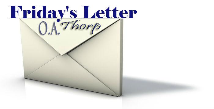 Friday Letter 10.4.13