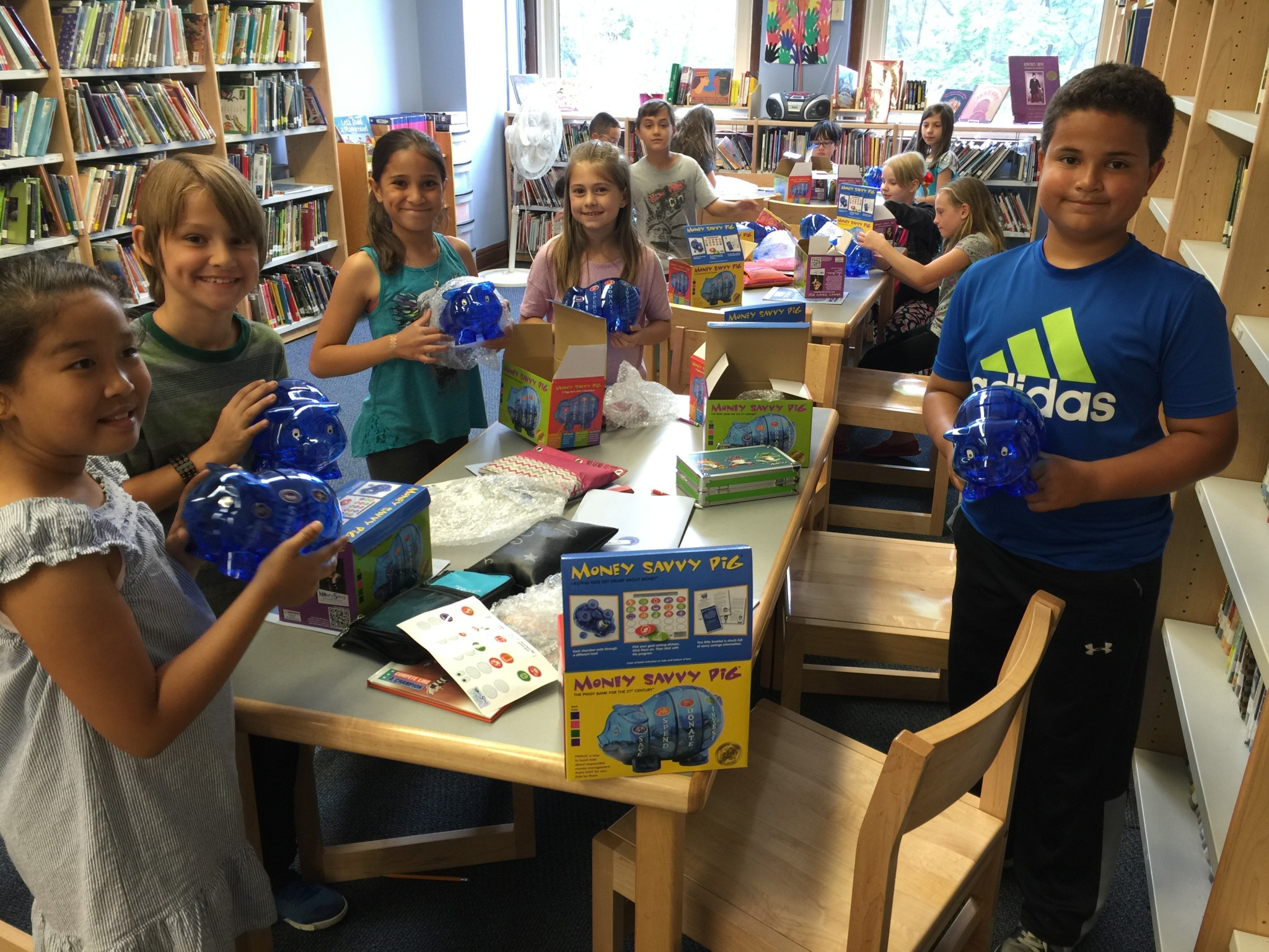 Third Graders Learn It's Fun To Save With Money Savvy Pig!