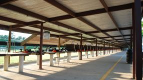 Rifle benches at HW Range and Training
