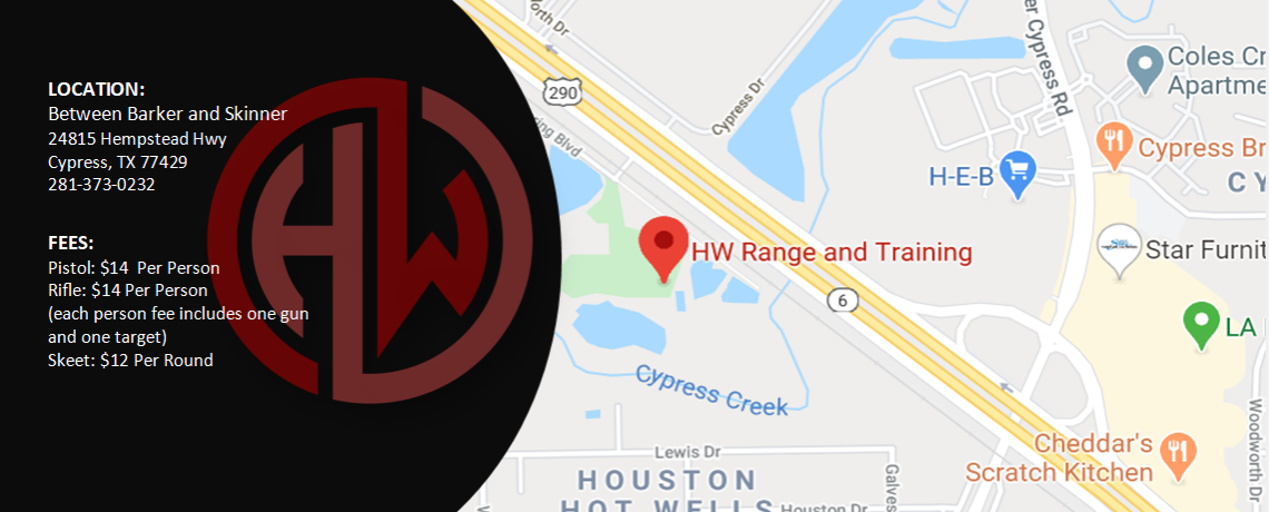 HW Range Location Fees Main Page