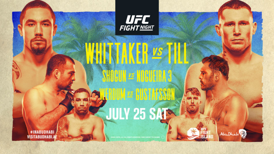 UFC Fight Night - Whittaker vs Till - July 25, 2020