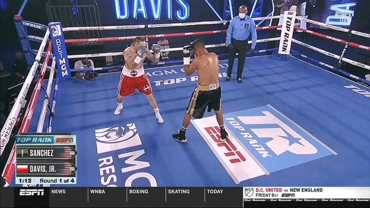 Kenny Davis Jr. vs Eduardo Sanchez