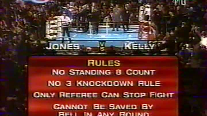 Roy Jones Jr. vs Glenn Kelly