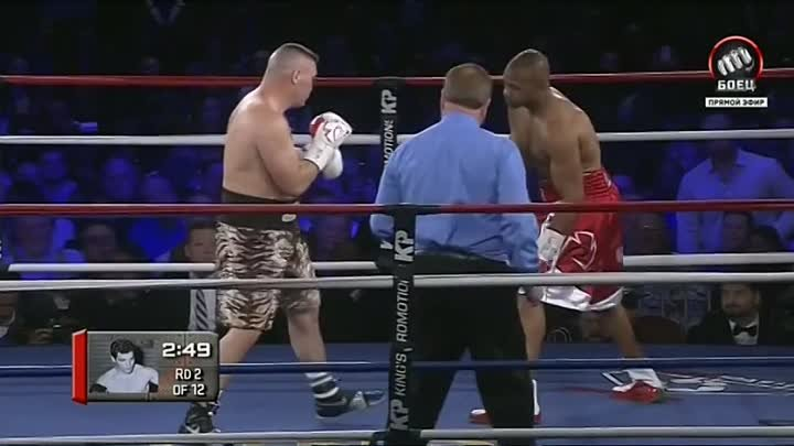 Roy Jones Jr. vs Bobby Gunn