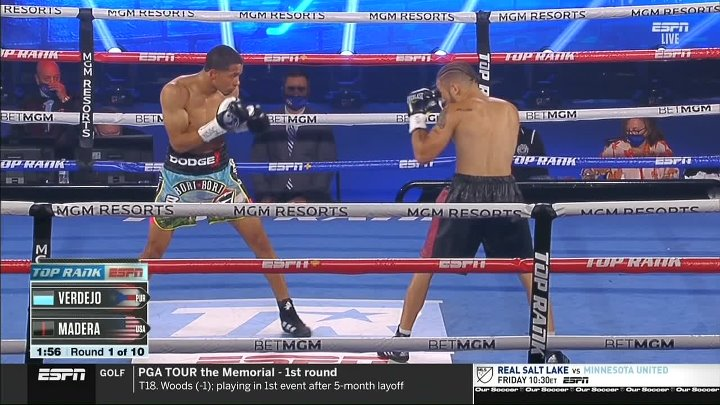 Felix Verdejo vs Will Madera