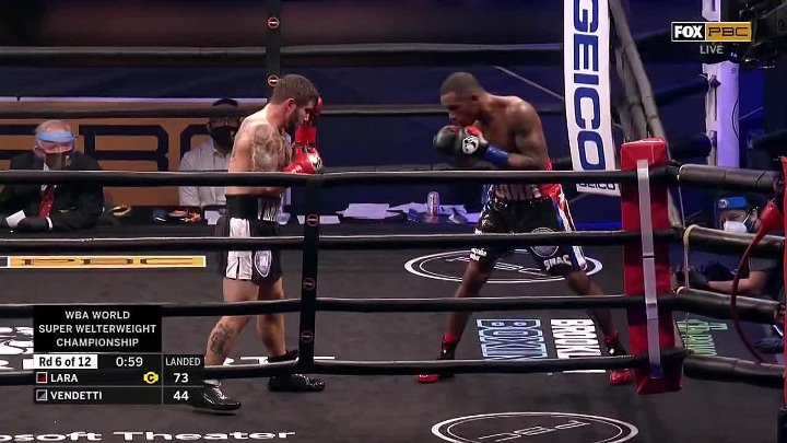 Erislandy Lara vs Greg Vendetti
