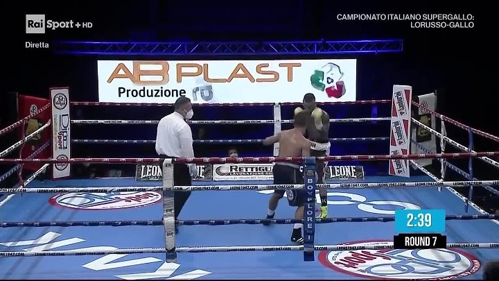 Alessio Lorusso vs Iuliano Gallo