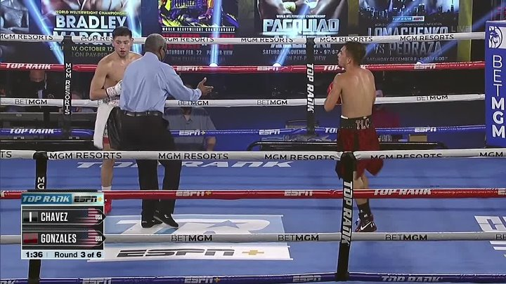 Anthony Chavez vs Adan Gonzales