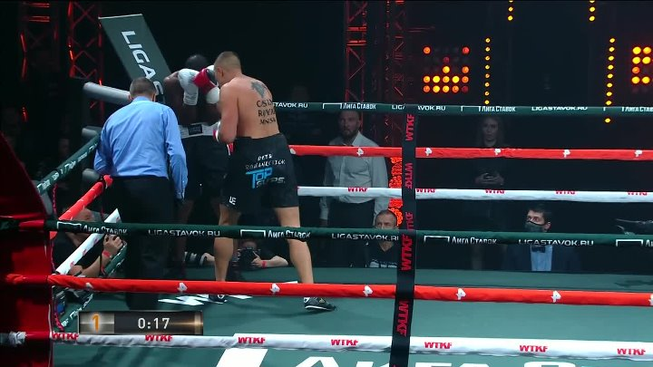 Piotr Ramankevich vs Christian Wouapi