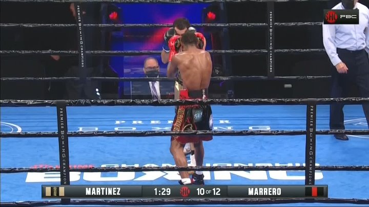 Xavier Martinez vs Claudio Marrero