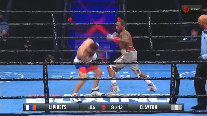 Sergey Lipinets vs Custio Clayton