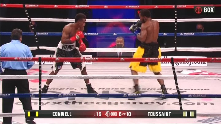 Charles Conwell vs Wendy Toussaint