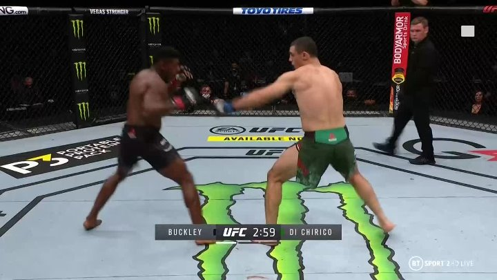 Joaquin Buckley vs Alessio Di Chirico (UFC on ABC 1)