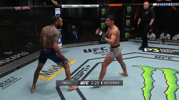 Andre Ewell vs Chris Gutierrez (UFC 258)