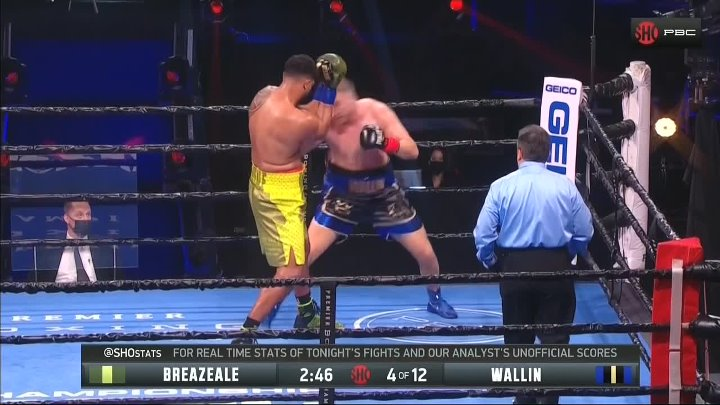 Otto Wallin vs Dominic Breazeale