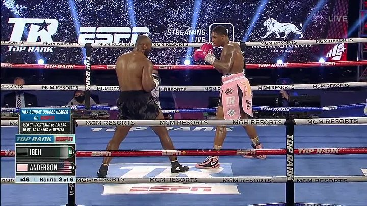 Jared Anderson vs Kingsley Ibeh