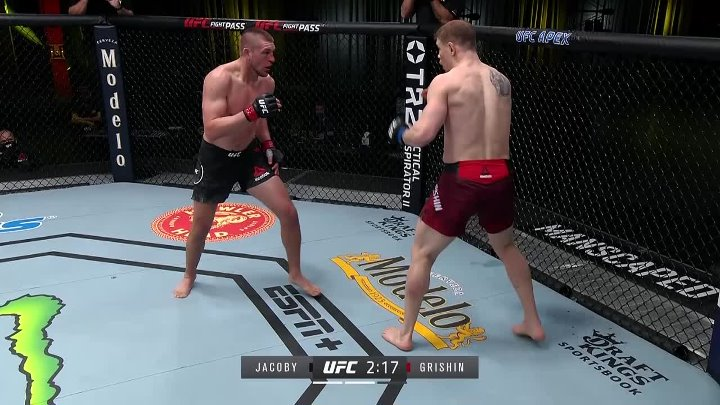 Dustin Jacoby vs Maxim Grishin (UFC FIGHT NIGHT 186)