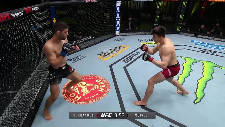 Alexander Hernandez vs Thiago Moisés (UFC FIGHT NIGHT 186)