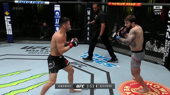Pedro Munhoz vs Jimmie Rivera (UFC FIGHT NIGHT 186)