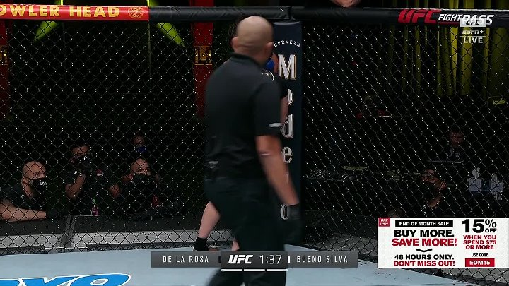 Montana De La Rosa vs Mayra Bueno Silva (UFC FIGHT NIGHT 186)