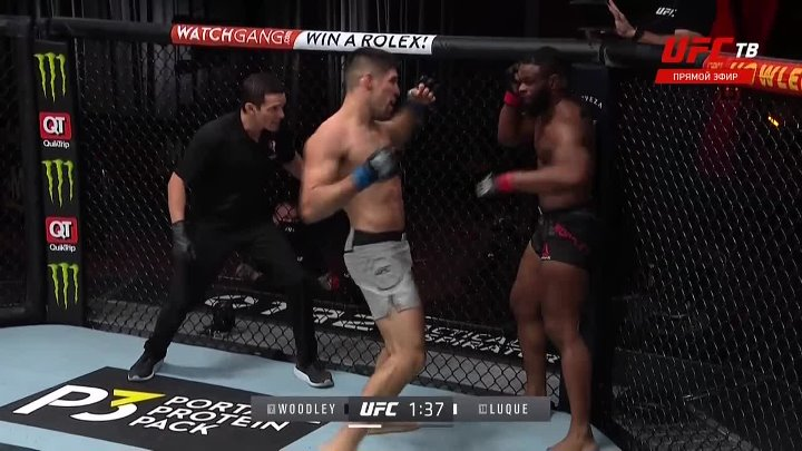 Tyron Woodley vs Vicente Luque (UFC 260)