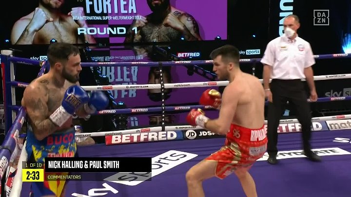 Anthony Fowler vs Jorge Fortea