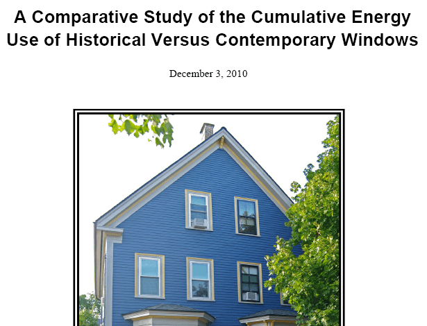 Historic Restoration in New England: The Case for Old Windows