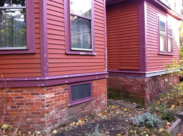 Somerville painting exterior house view